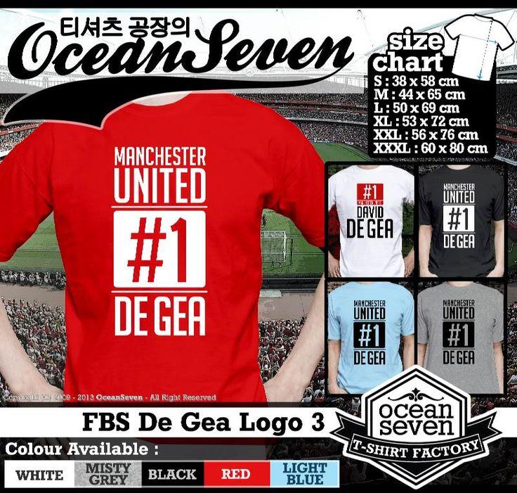 Kaos Tulisan dan Logo Manchester United 5