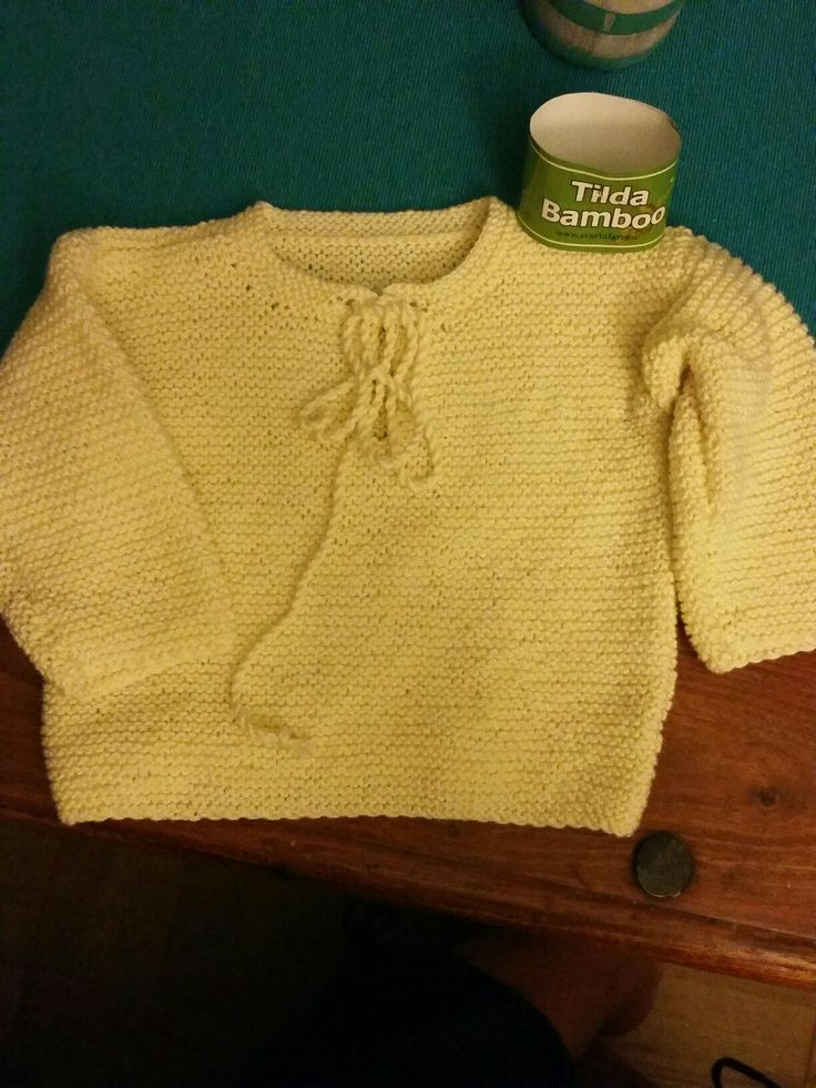 Baby jumper in bomull and bamboo yard