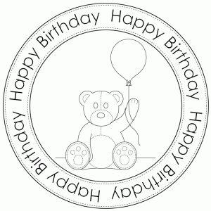 Teddy Birthday by Bird