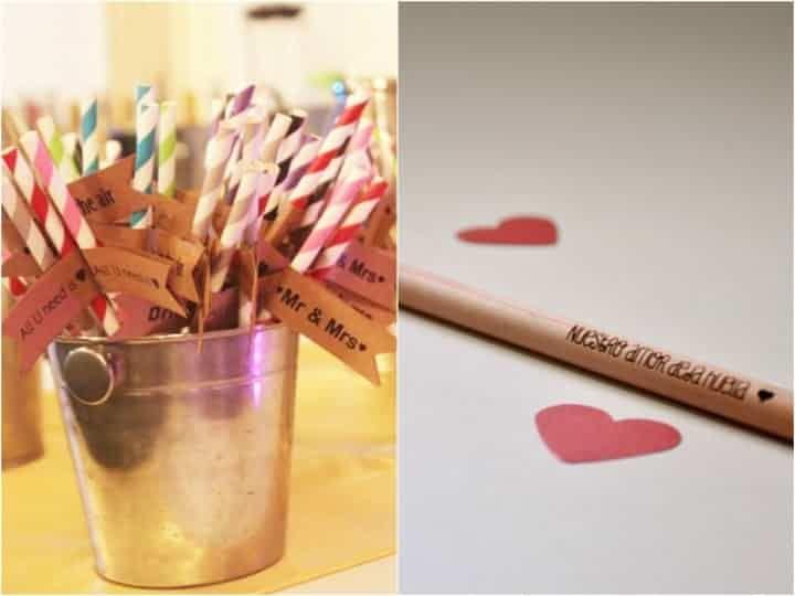 Ideas buenas, bonitas y baratas para los souvenirs de tu casamiento.