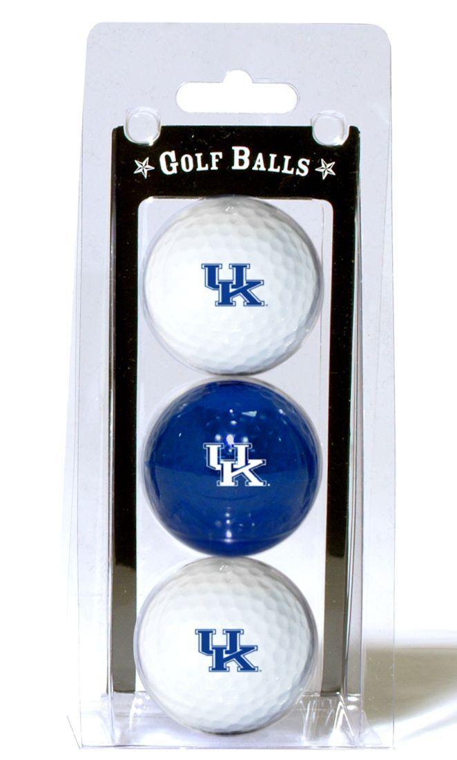 ~Kentucky Wildcats 3 Pack of Golf Balls~ backorder
