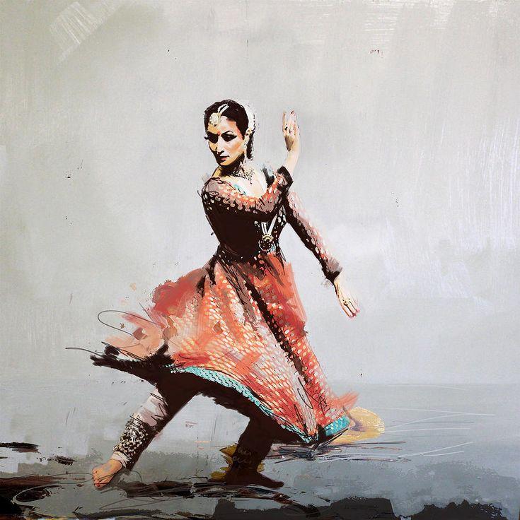 Zakir Painting - Classical Dance Art 11 by Maryam Mughal