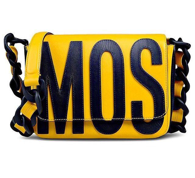 Yellow- Moschino