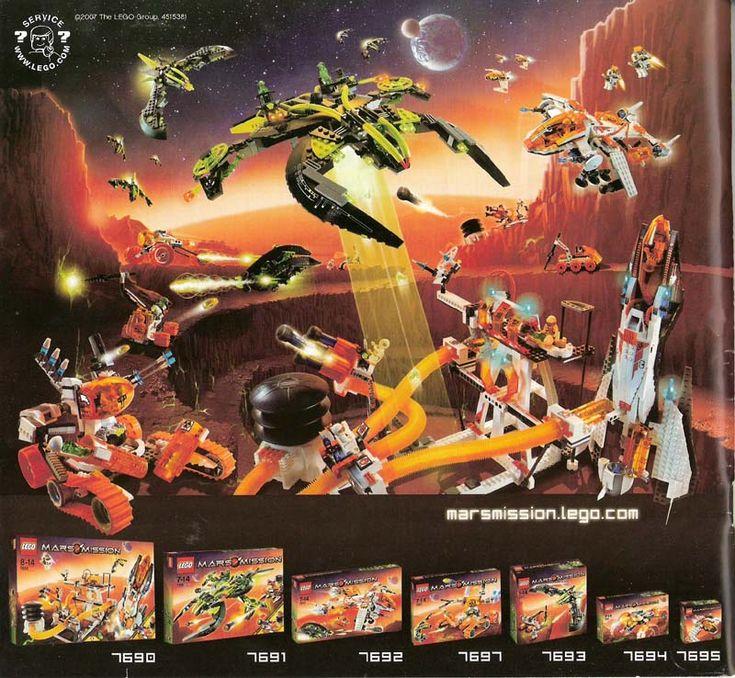 clawtank | Mars Mission - MT-51 Claw-Tank Ambush [Lego 7697]
