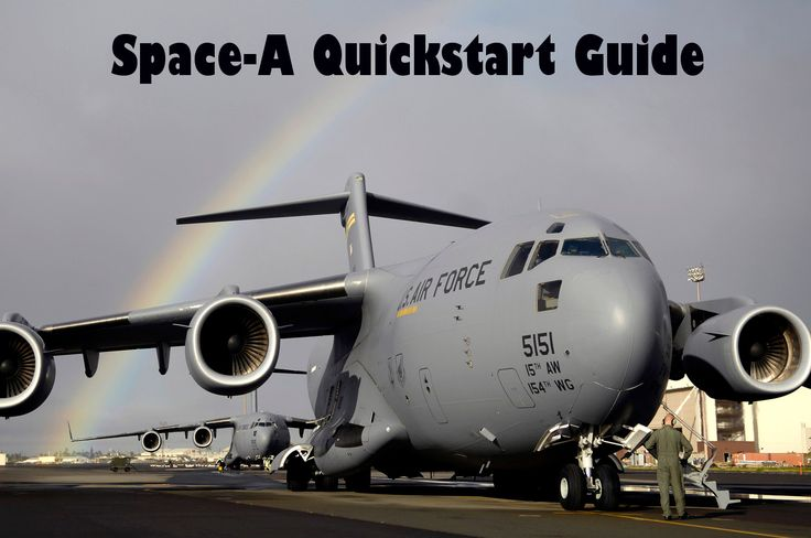 Everything you need to know to fly Space-A!