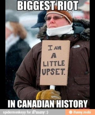O, Canada... Haha!