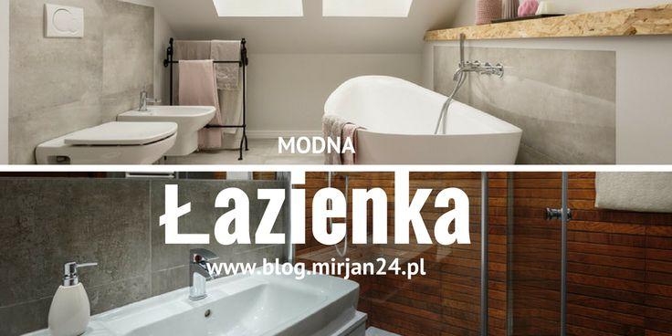 Modna łazienka Bathroom  #bathroom #łazienka #mieszkanie #nowość #mirjan24