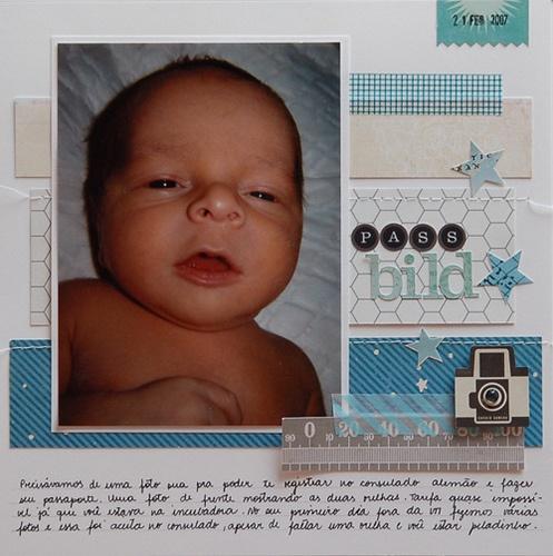 Passbild - Cute Babylayout