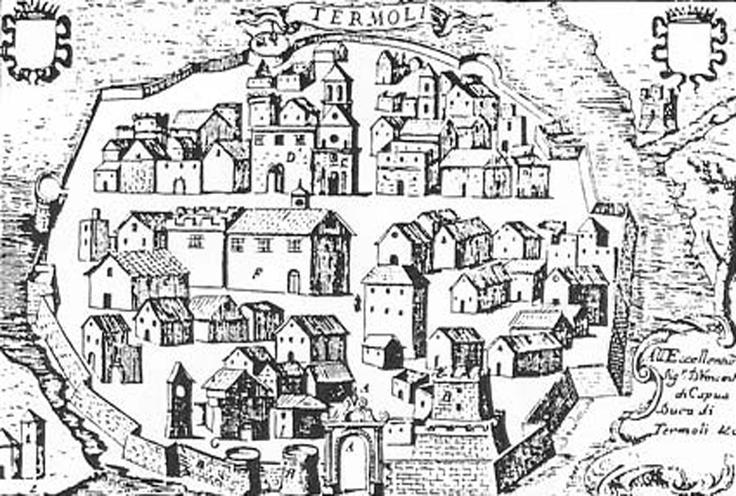 Mappa antica di Termoli
