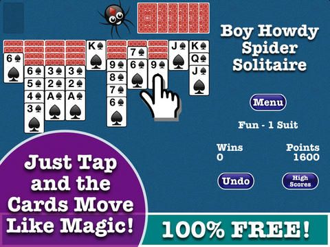 Spider Solitaire - FREE for iPhone and iPad