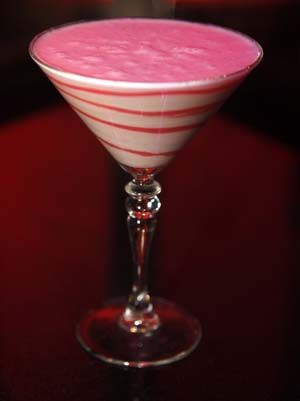 Red Velvet Martini...  Red Velvet Cake Martini by Steve Dorsey – Tastes just like red velvet cake! Seductive and scrumptious!    -2 oz Stoli Vanil  -1 oz Godiva White  -1 spoonful Red Velvet Powder  -Dash simple syrup, dash heavy cream  Shake and strain into a martini glass swirled with white and red chocolate syrups. @Lindsey Gray heaven?