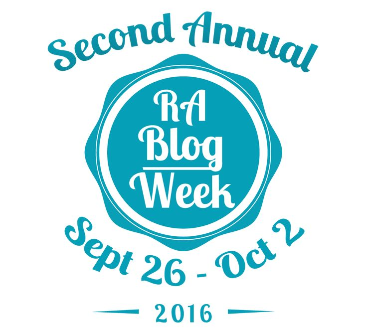 The RABlog week sign up page is open and ready. Signing up is a great way to get…