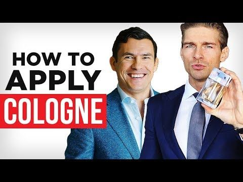 How To Apply Cologne? | Best Way To Wear Fragrance #perfume