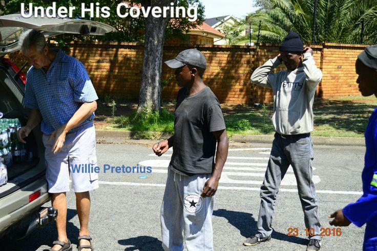 Street reach.  Willie Pretorius.  Under His Covering