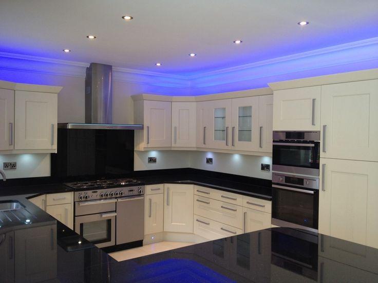 Kitchen LED Kitchen Ceiling Light Fixture Designs