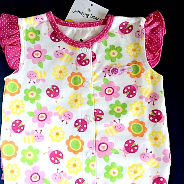 VERY CUTE NWT BABY GIRL ROMPER SZ 6M on Carousell