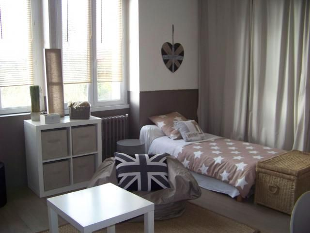 photos d coration de chambre d 39 ado mixte nature campagne brun beige blanc cass de kao29300. Black Bedroom Furniture Sets. Home Design Ideas