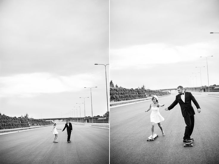 Short wedding dress for an active bride! ;)  #wedding #photography