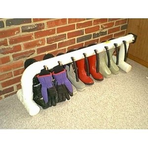 glove and boot holder and dryer