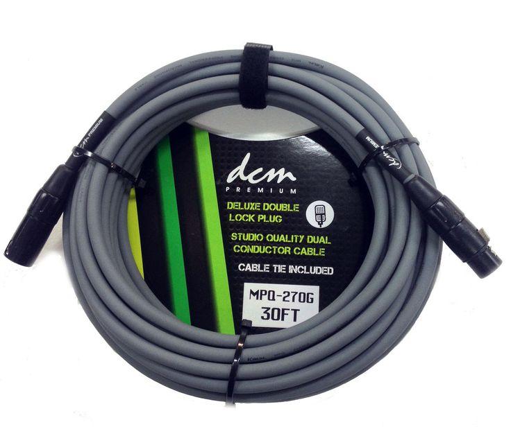 DCM Premium XLR-XLR Cable 20ft