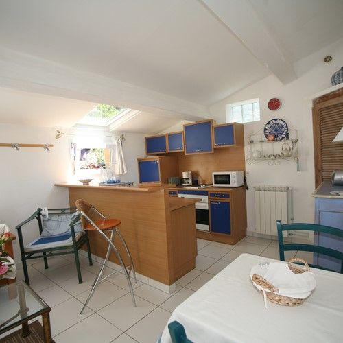 Maison Bleue Mandelieu Villa Rental Pool Kitchen
