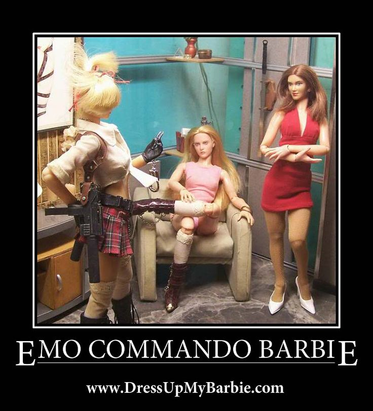 Emo Commando Barbie Www Dressupmybarbie Com Dress Up