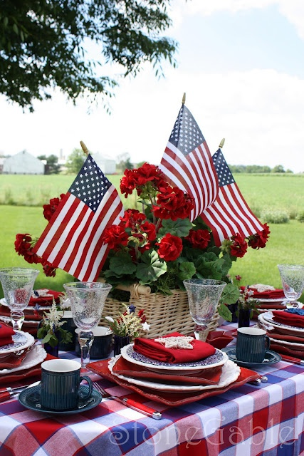 Host a 4th of July party in your very own backyard!