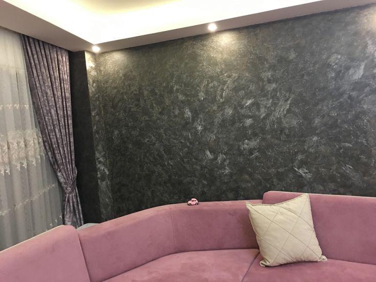 Salonda italyan boya, Salon dekoratif italyan boya