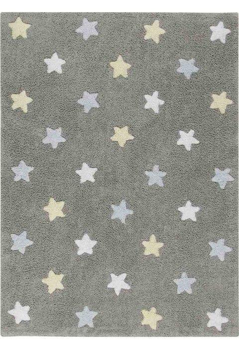 Stars Tricolor Grey-Blue