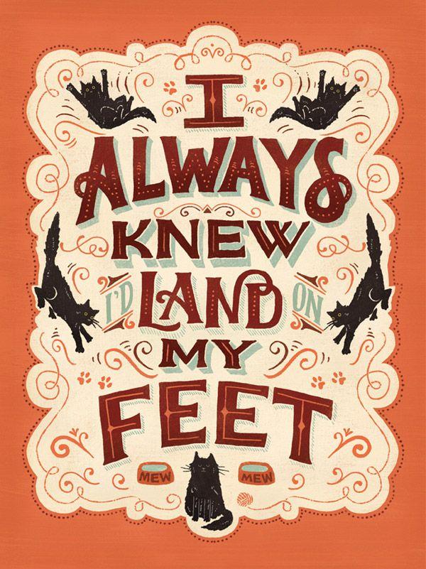 Mary Kate McDevitt via 30 Inspiring Hand Drawn Lettering Poster Designs