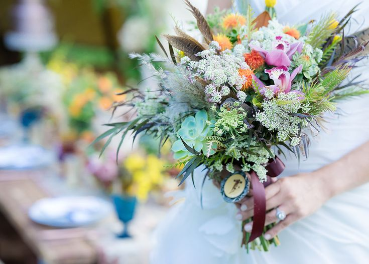 FORREST AND J. || with Archive Rentals and Flowers by Cina || Disney Wedding