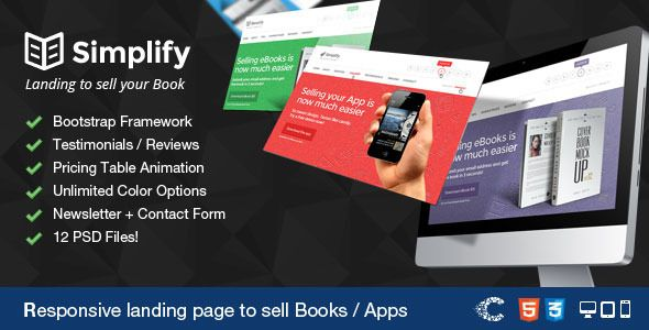 Deals Simplify - Sell your Book / App Landinglowest price for you. In addition you can compare price with another store and read helpful reviews. Buy