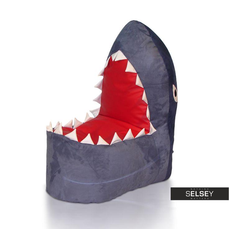 Pufa Shark - Meble dziecięce i młodzieżowe, Salon
