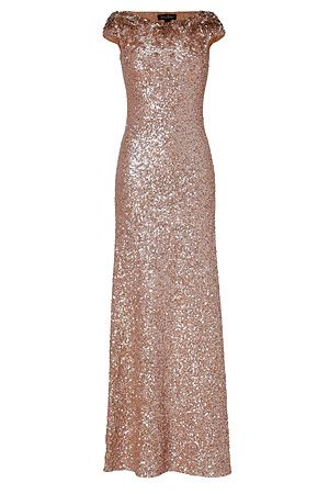 Sequin Bridesmaids Dress from Jenny Packham- Love this! I wonder if it comes in purple or red????