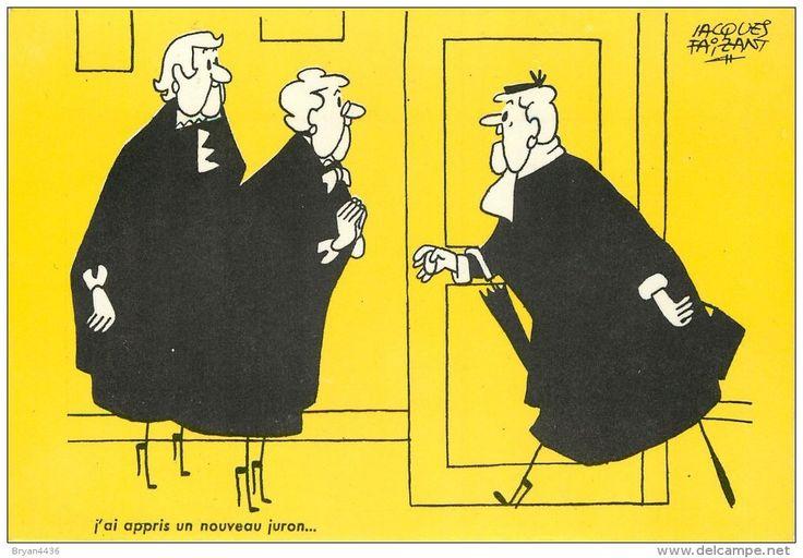 Jacques Faizant - ** nouveau juron... **  - voir 2 scans