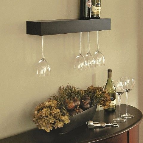 Pinot Wine Glass Rack Storage Shelves Target $35