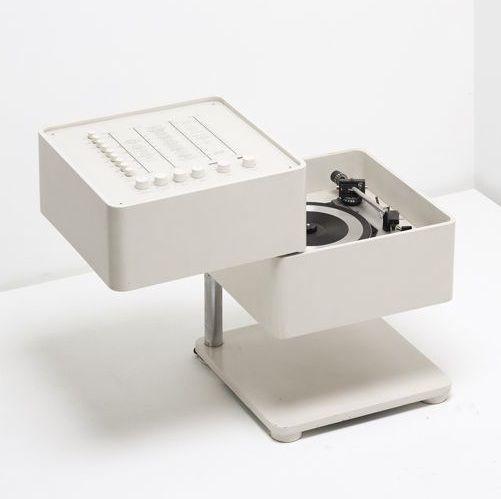 Verner Panton, Wega Stereobar 3300, Hifi radio.