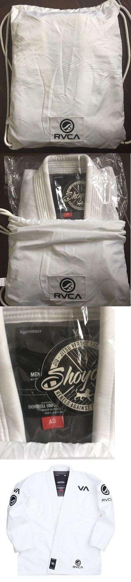 Uniforms and Gis 179774: Shoyoroll Rvca Batch #60 A0 White Bjj Kimono Bnib -> BUY IT NOW ONLY: $355 on eBay!