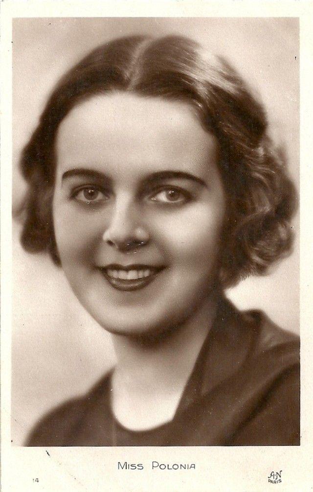 Ретрокрасавицы с конкурса «Мисс Европа — 1930» 12. Мисс Польша Софья Батыцкая (22 августа 1907, Львов — 9 июля 1989, Лос-Анджелес).