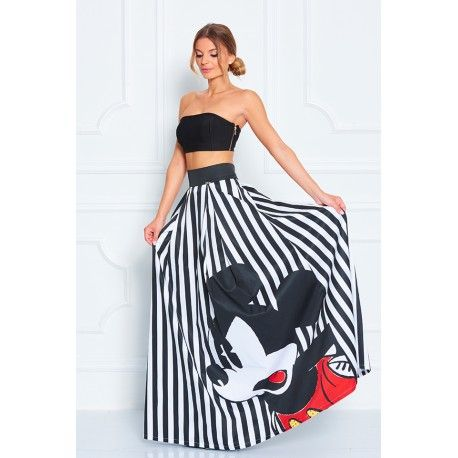 Record Mickey skirt - Sugarbird Official Online Store - USA