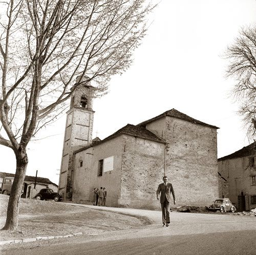 camminando con Beppe Fenoglio presso San Benedetto Belbo
