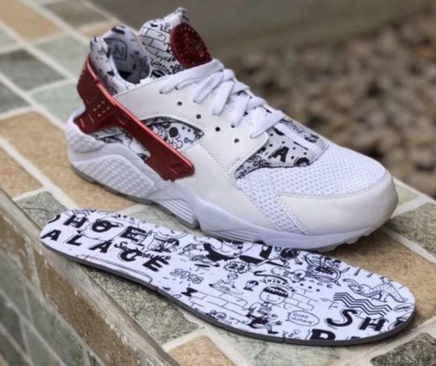Shoe Palace x Nike Air Huarache Collab
