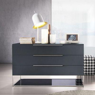Modloft Bowery 3 Drawer Dresser - http://delanico.com/dressers/modloft-bowery-3-drawer-dresser-736917233/