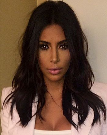 Kim Kardashian showed off her new haircut on Instagram after chopping off a few inches -- see the before and after pictures!
