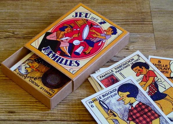 Marc Vidal - 7 families card game