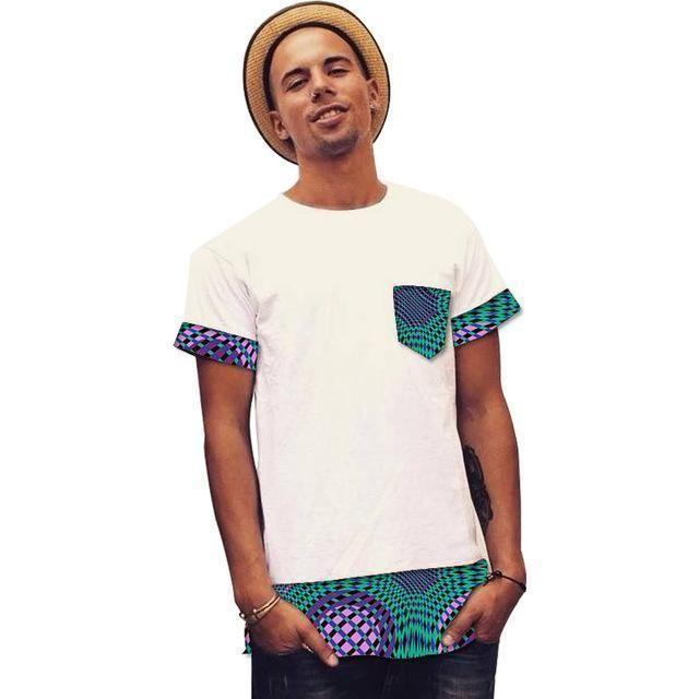 African Clothing For Men, Dashiki Kitenge Tops, Casual African Shirt