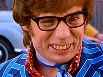 Austin powers yeah baby what s on the box pinterest