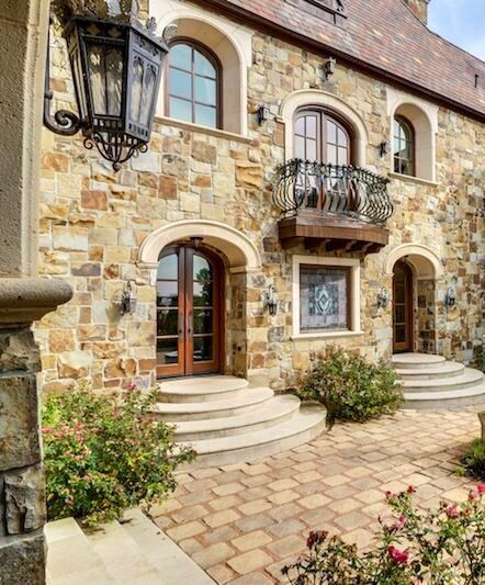 Luxury Stone Homes: 550 Best ARCHITECTURE, EXTERIORS, FRONT-BACK Images On