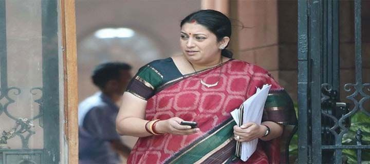 MBA graduate refuses to take degree from Smriti Irani over 'diminishing freedom'  - Read more at: http://ift.tt/1OMw5VI
