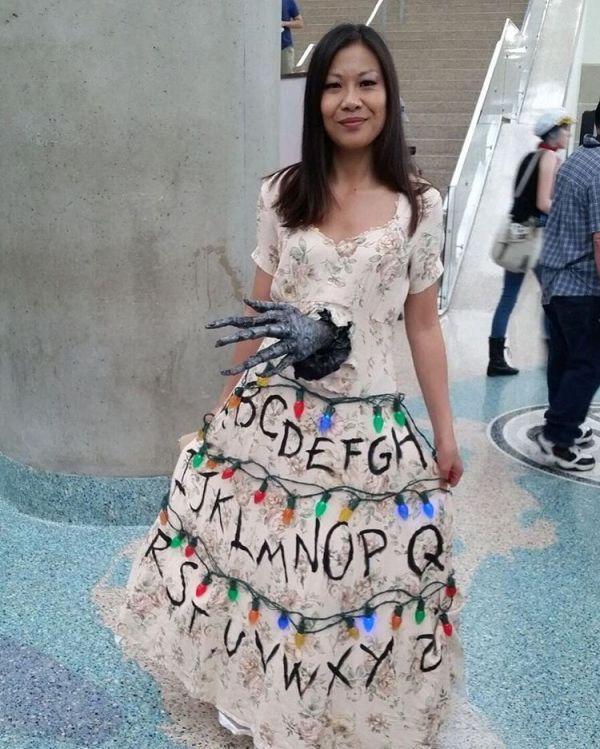 Forget Tardis Dresses, Here's a Stranger Things Dress - Neatorama